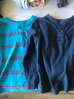 Boys Henley shirts