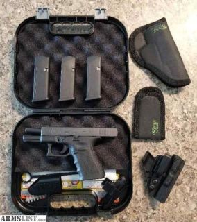 For Sale: New Glock 19 XMC model GEN 4, Never been fired!