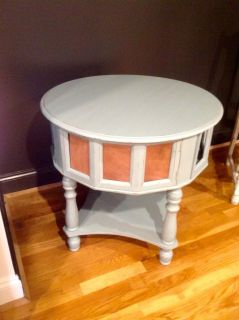 cute side table , solid wood