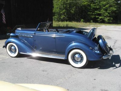 Fun jazz age 30's Chrysler Rumbleseat Roadster that's ready to drive!