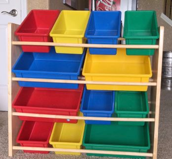Tot Tutor Toy Organizer