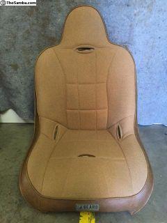 Beard suspension seat tweed pair New