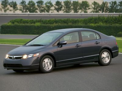 2006 Honda Civic Hybrid Hybrid (Alabaster Silver Metallic)