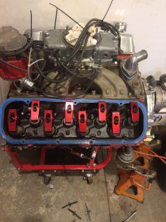 496 BBC , pump gas motor