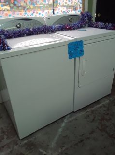 GE Energy Saving Washer & Dryer