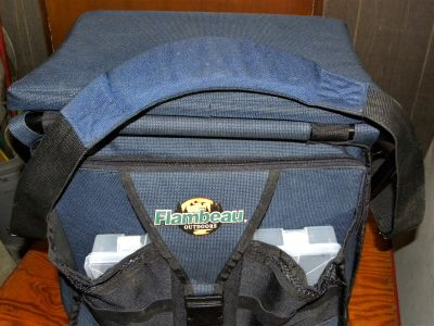 FLAMBEAU FISHING TACKLE BOX FOR PIER DOCK BOAT BANK FISHING