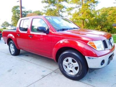 2007 Nissan Frontier SE (RED)