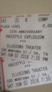 FREESTYLE tickets