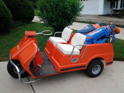 1967 AMF Harley Davidson Golf Cart