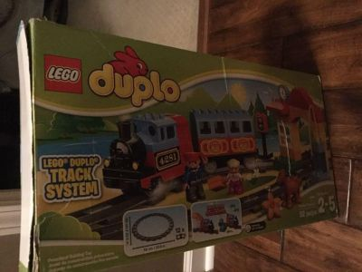 LEGO duplicating train and track