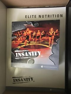 Like new beach body insanity work out