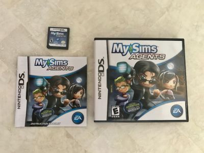My Sims Agents DS Game