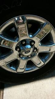 ford f 150 rims tires