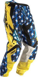 Find 2011 Fly Racing Kinetic Pants (32) (YELLOW/BLUE) 364-23332 motorcycle in Loudon, Tennessee, US, for US $61.34