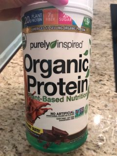Organic Chocolate Protein powder. Used once.