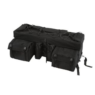 "Purchase Black 33"" ATV Rear Rack Soft-Luggage Storage Cargo Gear Pack Bag ATV-RBG-9030-BK motorcycle in West Bend, Wisconsin, United States"