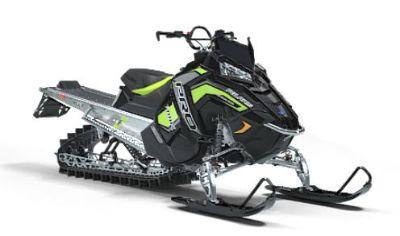 2019 Polaris 800 PRO-RMK 163 Snowcheck Select Mountain Snowmobiles Ponderay, ID
