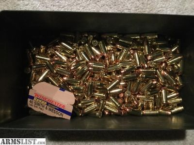 For Sale: Bulk 40, 45, 10mm ammo for sale!