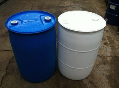Plastic Food Grade Barrel Atlanta Georgia 55 Gallon Rain Water Barrels Potable Drinking