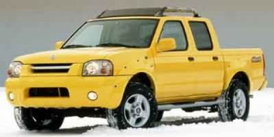 2001 Nissan Frontier XE (Red)