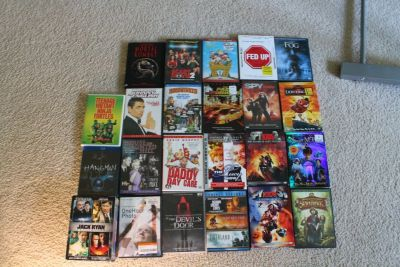 Movie DvD Assortment