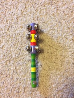 Eric Carle bell rattle. So cute and fun!