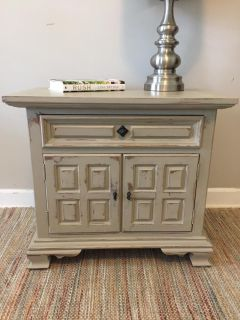 night-stand, taupe