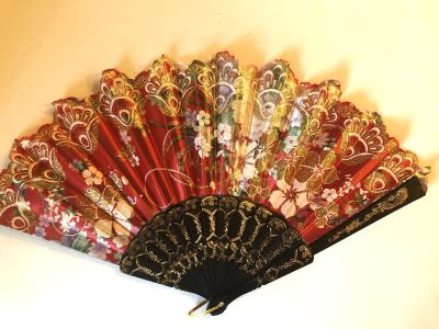 Gorgeous Japanese fan! Great Condition!