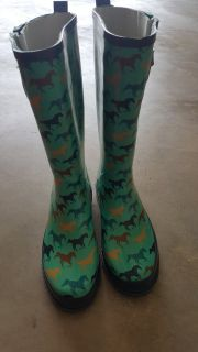 Western Chief Rubber Boots Ladies Size 7