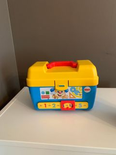 Fisher Price Laugh & Learn Stages Toolbox