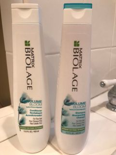 Biolage shampoo and conditioner
