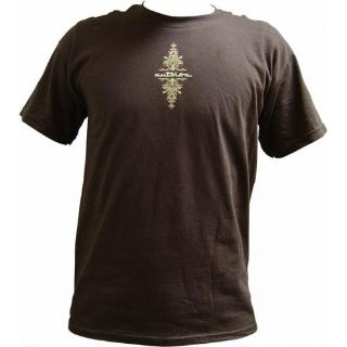 Sell AutoLoc Medium Brown Short Sleeve Pinstripe T Shirt STYLE 1rod 2x motor retro motorcycle in Portland, Oregon, United States, for US $8.08