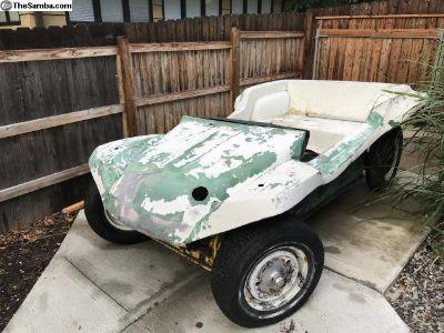 Fiberglass buggy parts vehicle
