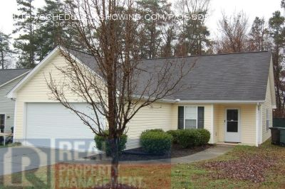 Ranch 3BR/2BA w/2-car garage including Lawncare!