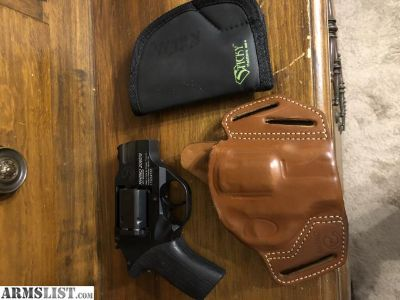 For Sale: Chiappa Rhino 200ds, 2 holster