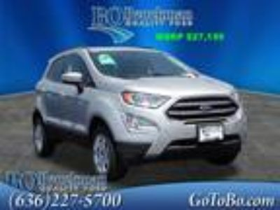 2018 Ford EcoSport Silver, new