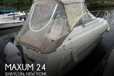 2001 Maxum 2400 SCR