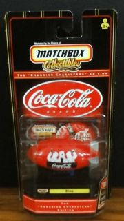 Matchbox Enduring Characters Edition Coca Cola Blimp Polar Bears 1/64