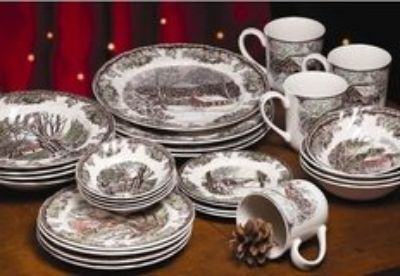 Johnson Bros- 28 Piece Place Setting, New