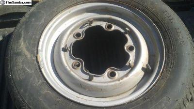 5 lug smoothie rim Made in England wheel