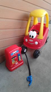 Little Tykes Cozy Coupe & Gas Pump