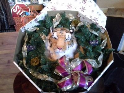 LSU wreath -