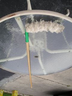 CEILING FAN DUSTER / BRUSH
