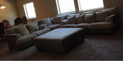 Ashley's 4 Piece Sectional Couch Set