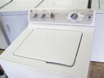 Washer by GE -Stainless Steel Tub Heavy duty