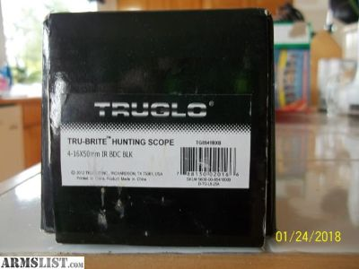For Sale: TRUGLO HUNTING SCOPE