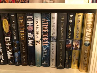 11 John Grisham hardbacks - great condition