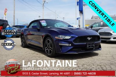 2018 Ford Mustang (Lightning Blue Metallic)