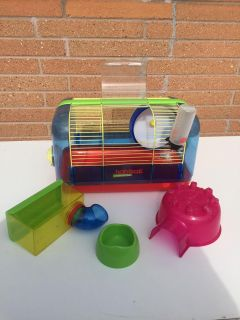 Hamster Cage with all the extras
