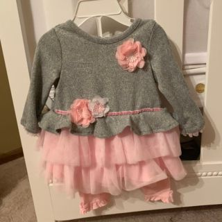 NWOT cute 3-6 month outfit